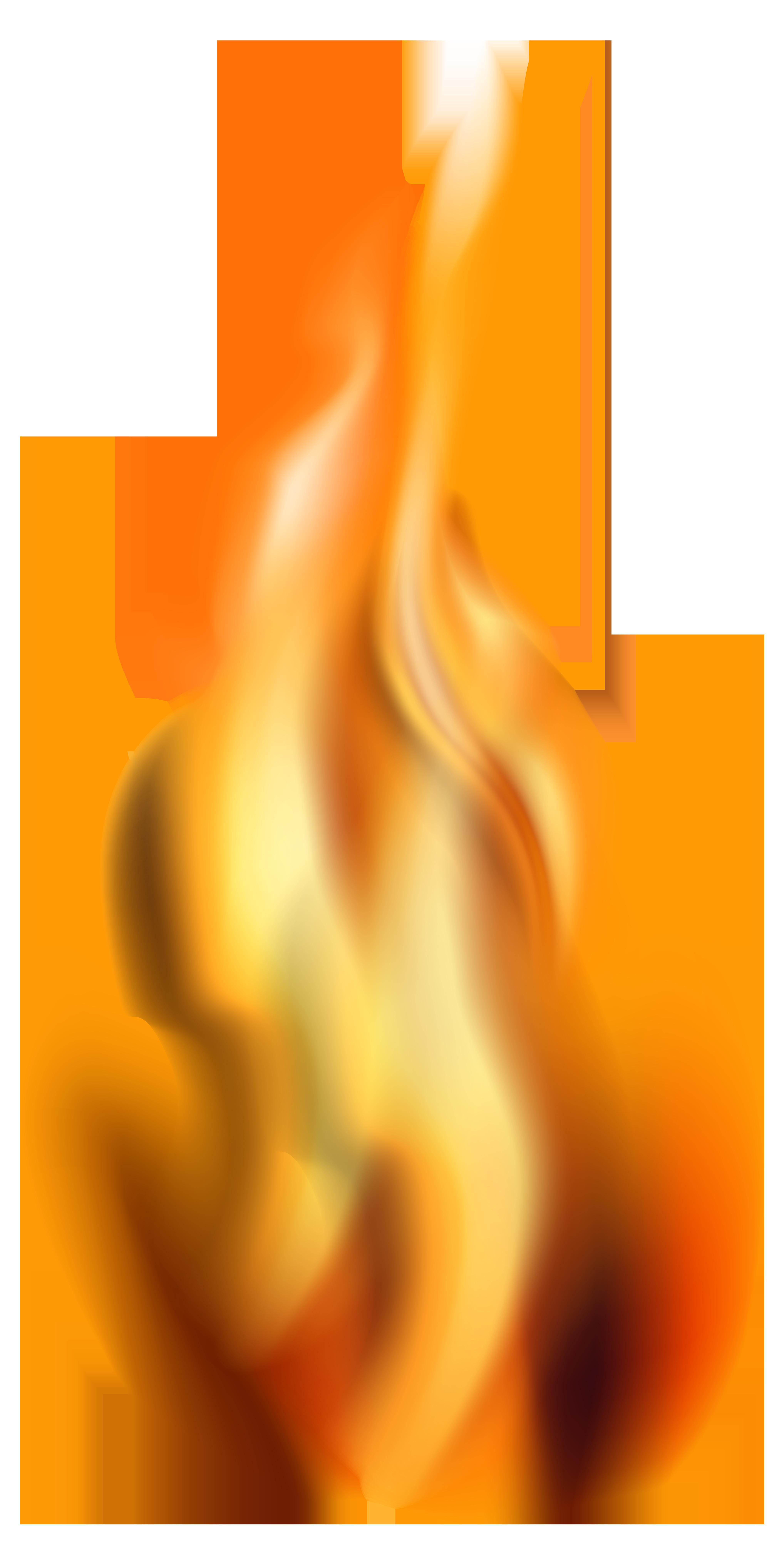 Fire PNG Transparent Clip Art.