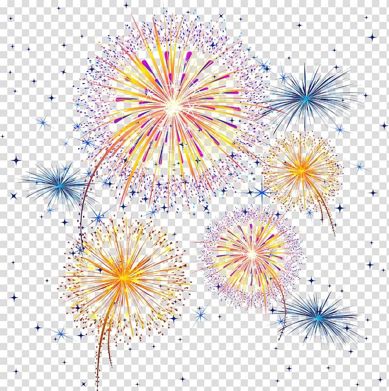 Adobe Fireworks , celebration transparent background PNG.