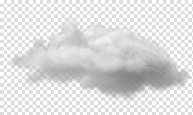 Cloud computing Internet, fog transparent background PNG.