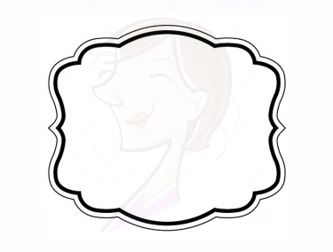 17 Basic Simple Frames Clipart Calligraphic Borders Commercial.