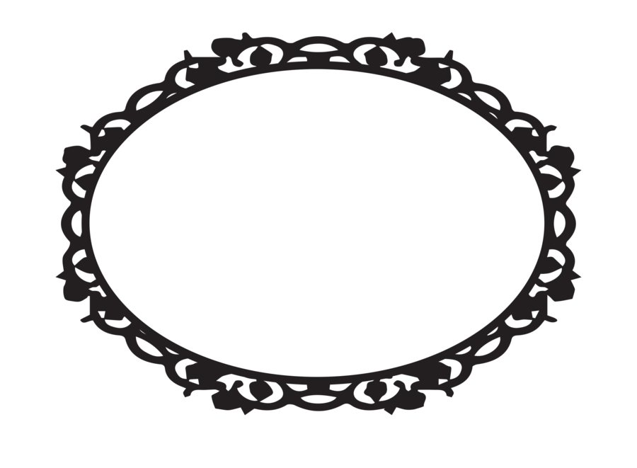 Black Frame Clipart Transparent.