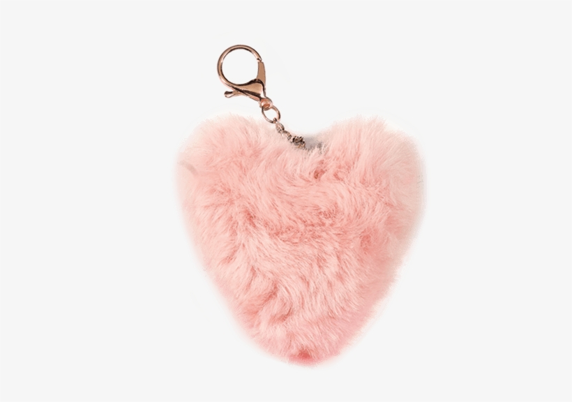 Picture Of Heart Furry Pom.