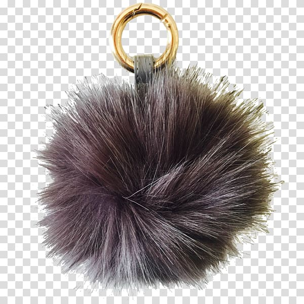 Fur clothing Key Chains, Pom Pom transparent background PNG.
