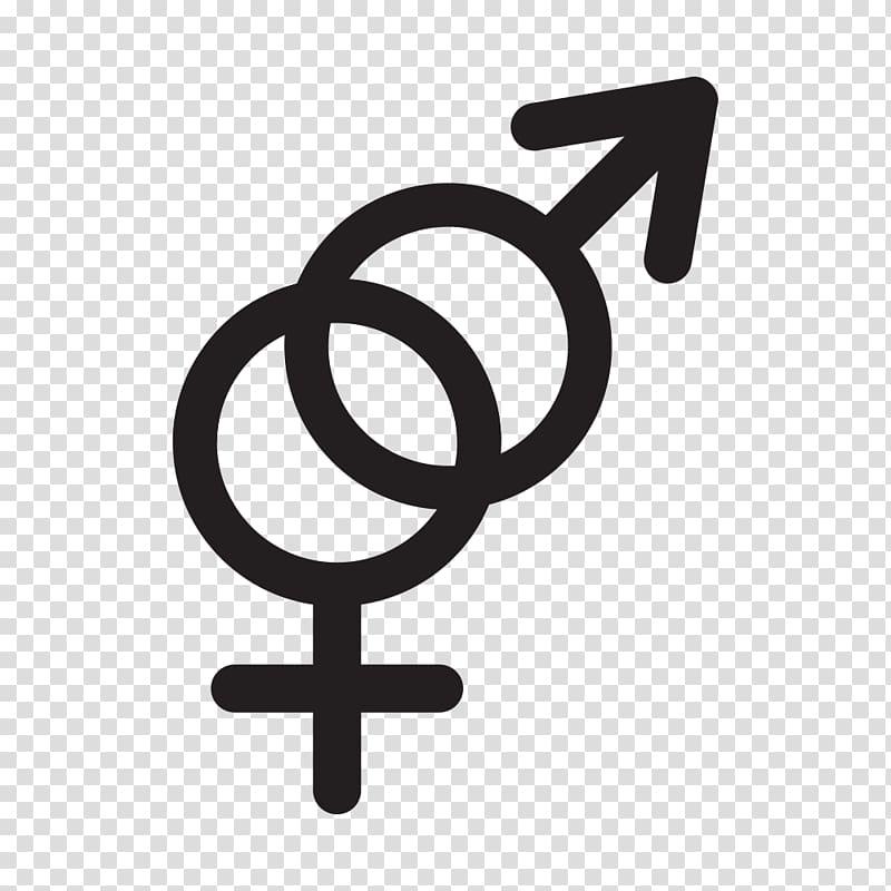 Gender symbol Gender identity, people think transparent.