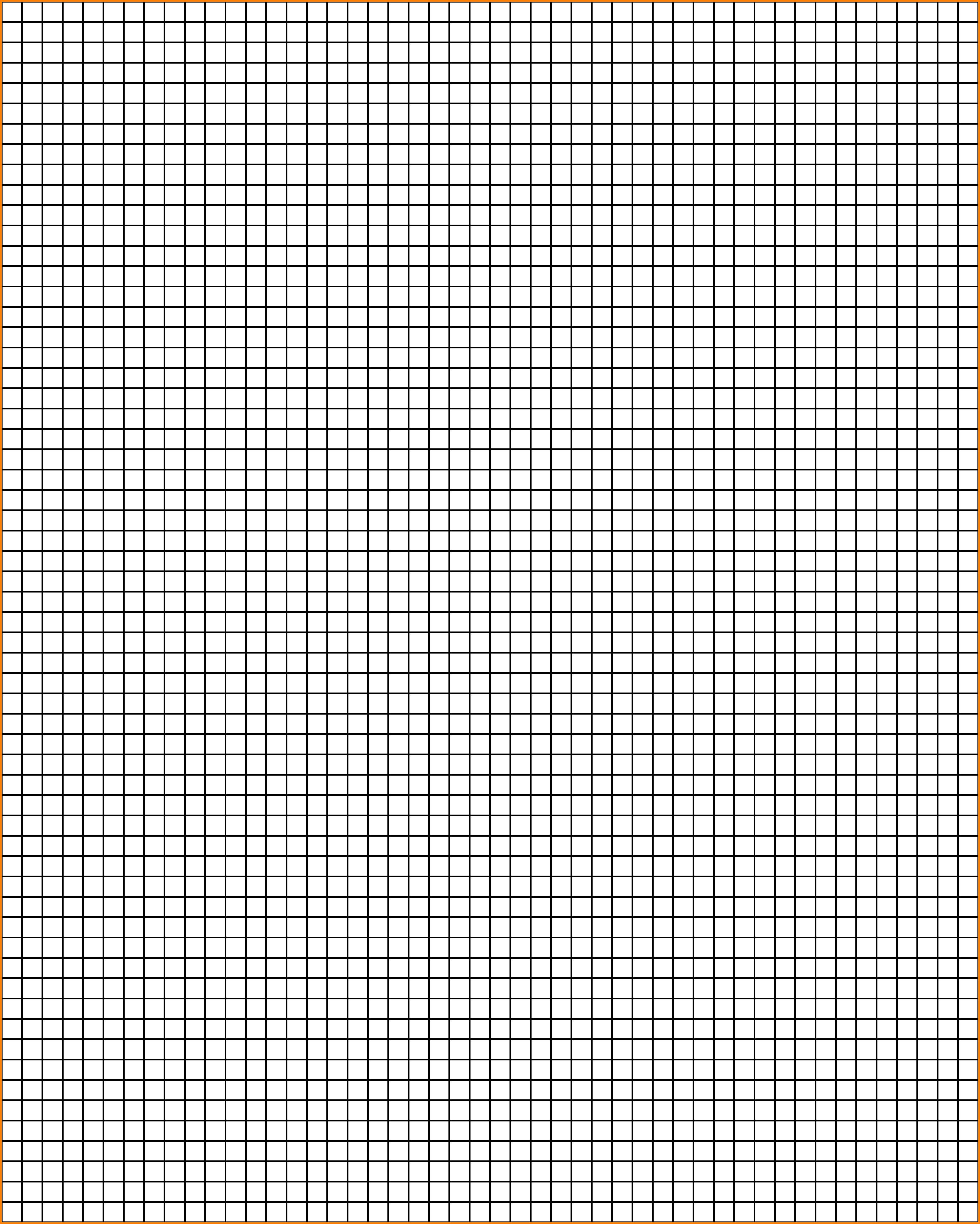 transparent graph paper.