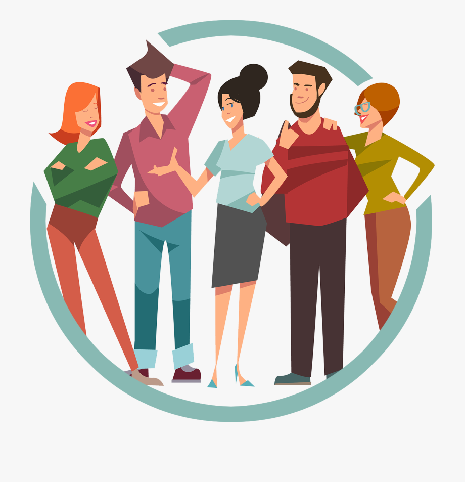 Group Friends Cartoon Png , Transparent Cartoon, Free.