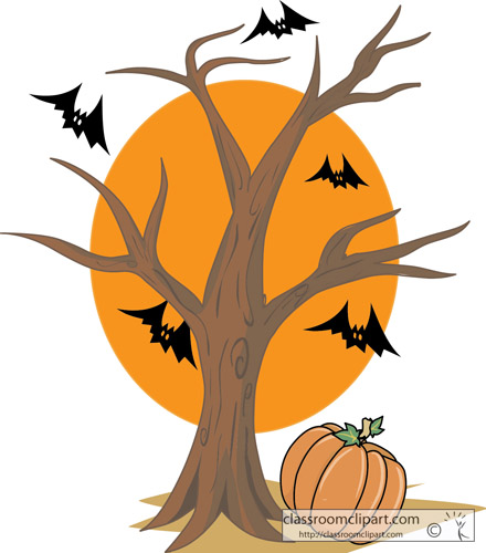 Black Halloween Clipart Transparent Background.