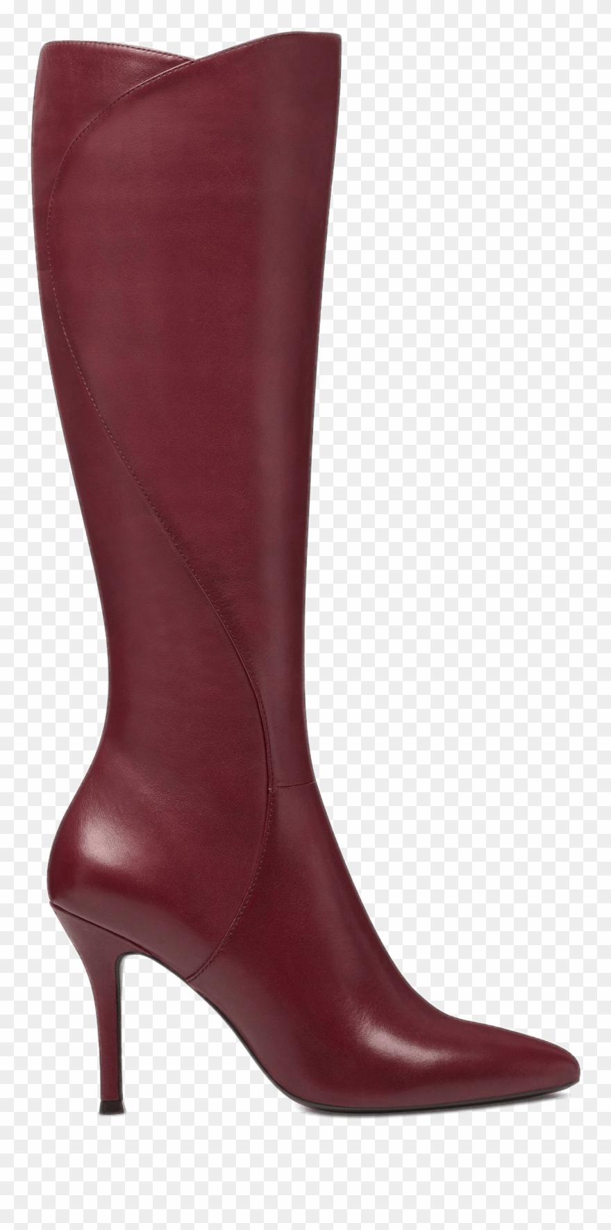 Transparent High Heel Boots.