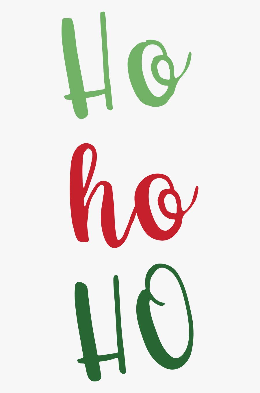 Ho Ho Ho , Free Transparent Clipart.