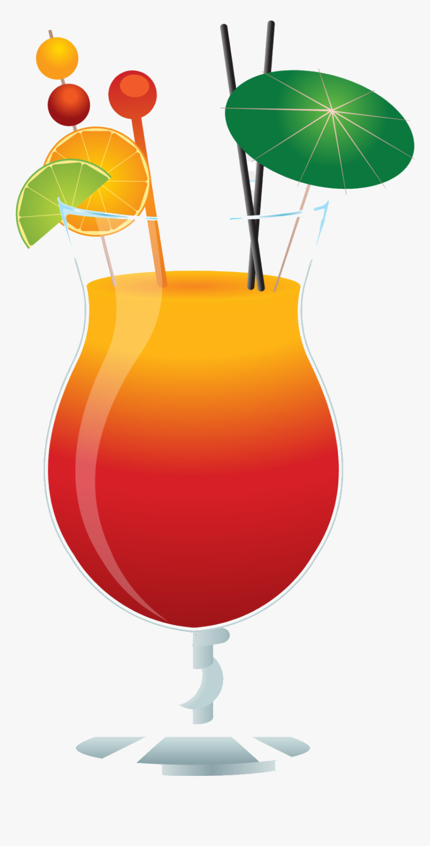 Alcohol Clipart Mixed Drink Free On Transparent Png.