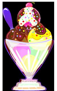 808 Ice Cream Sundae free clipart.
