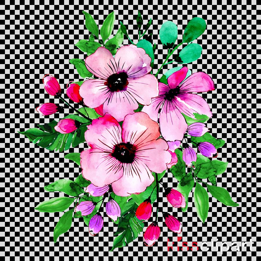 Artificial flower clipart.