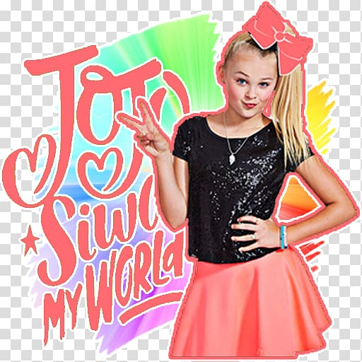 Android Its JoJo Siwa , android transparent background PNG.