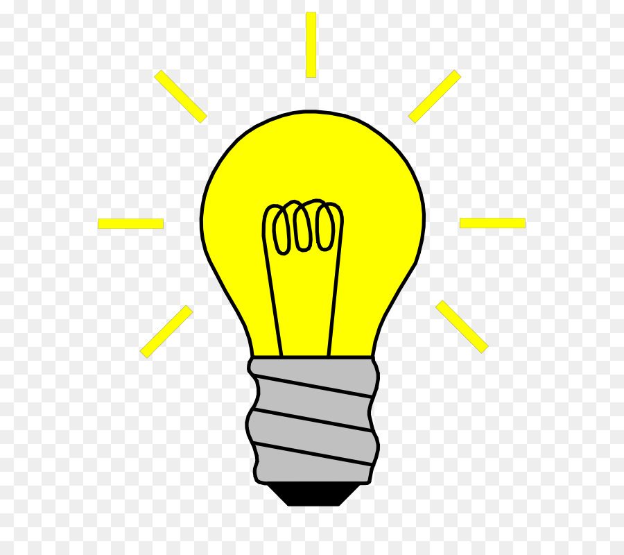 Light Bulb Cartoon clipart.