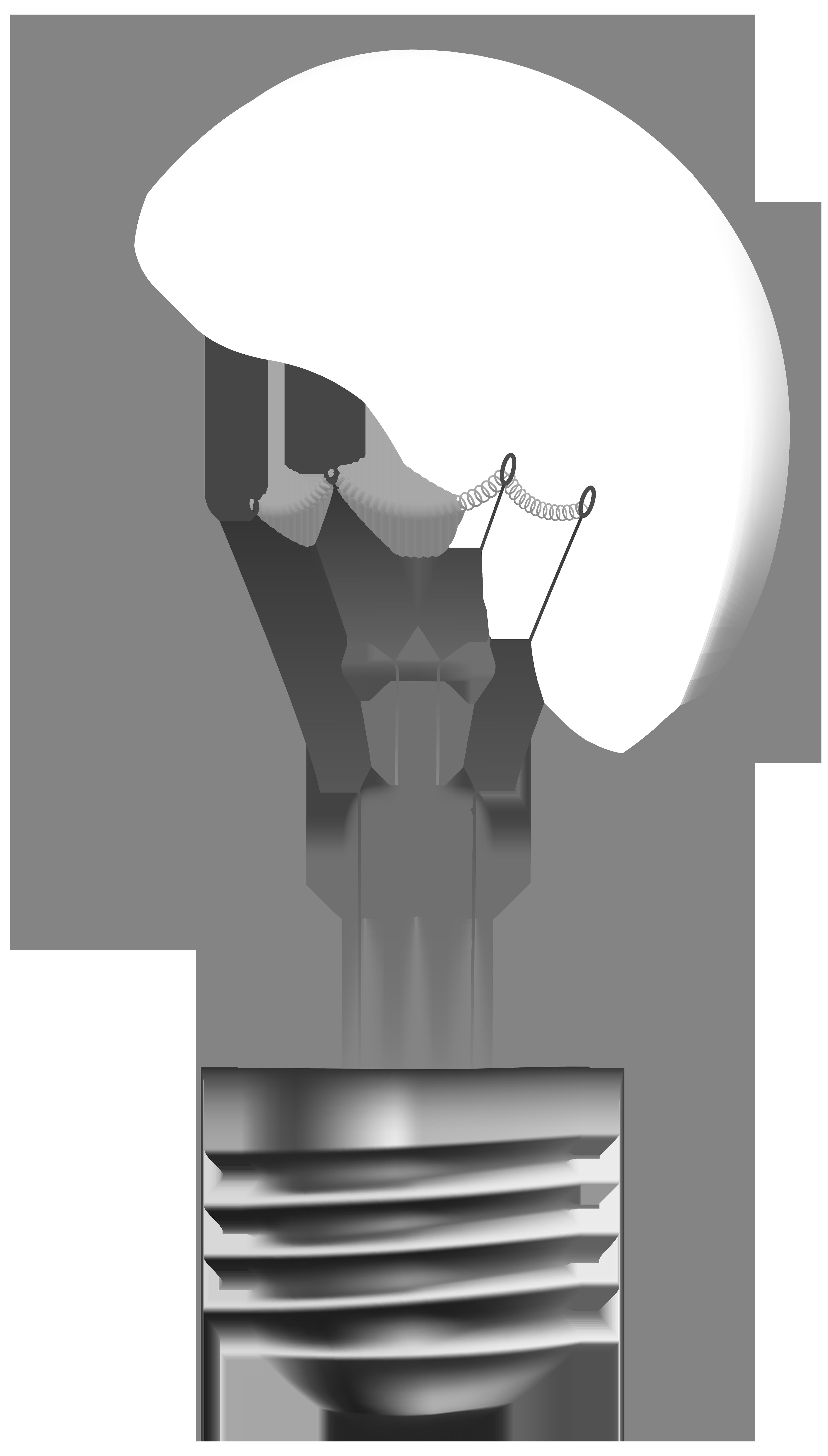 Transparent Light Bulb PNG Clip Art.