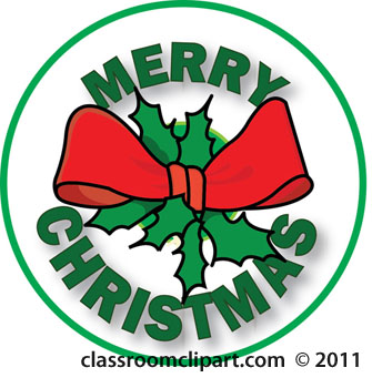 Transparent Merry Christmas Clipart.