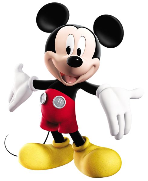 Transparent Mickey Shaped Food Clipart.