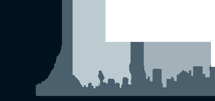 New York Skyline Clipart Transparent Background.