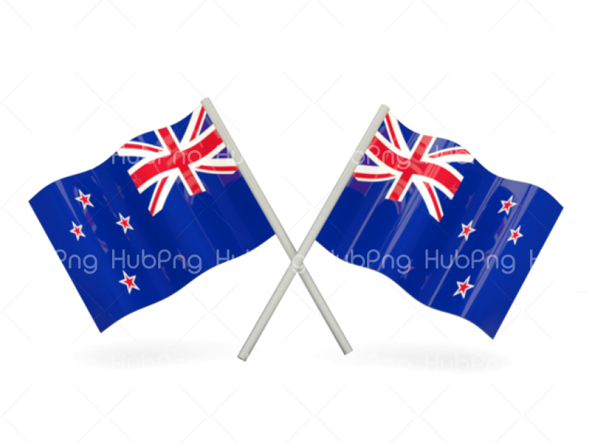 new zealand flag png clipart vector Transparent Background.