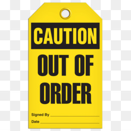 Out Of Order PNG and Out Of Order Transparent Clipart Free.
