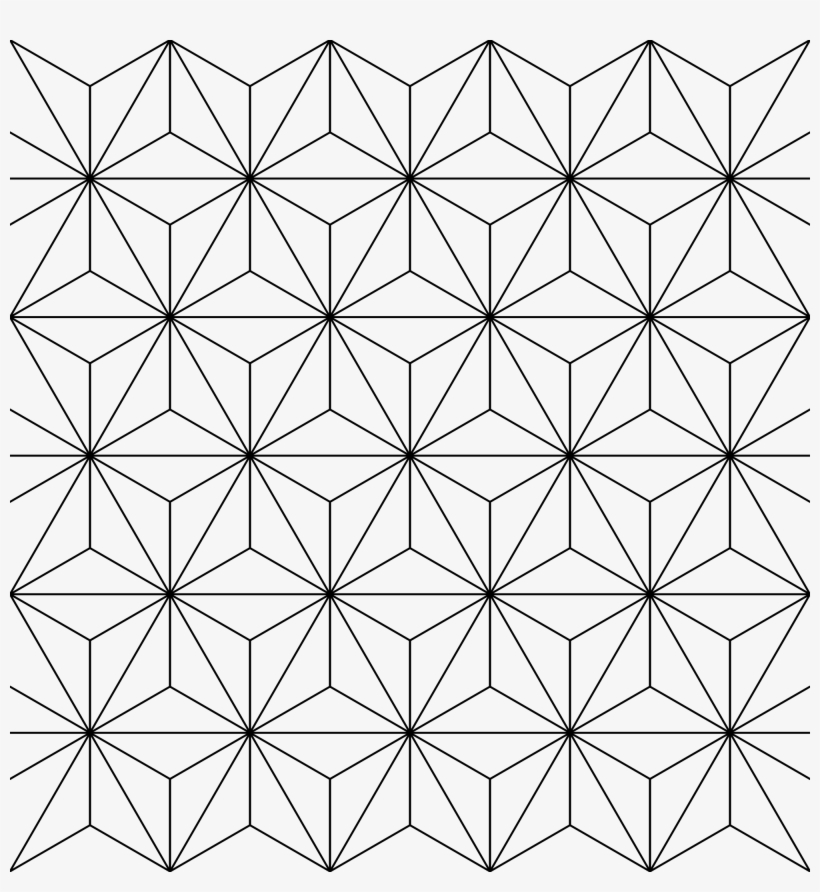 Transparent Pattern Sacred Geometry.