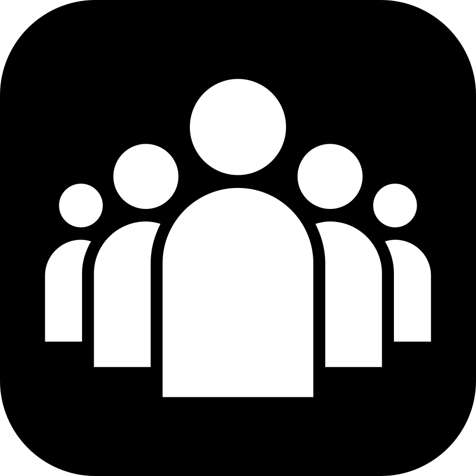 Group Of People Icon Png.