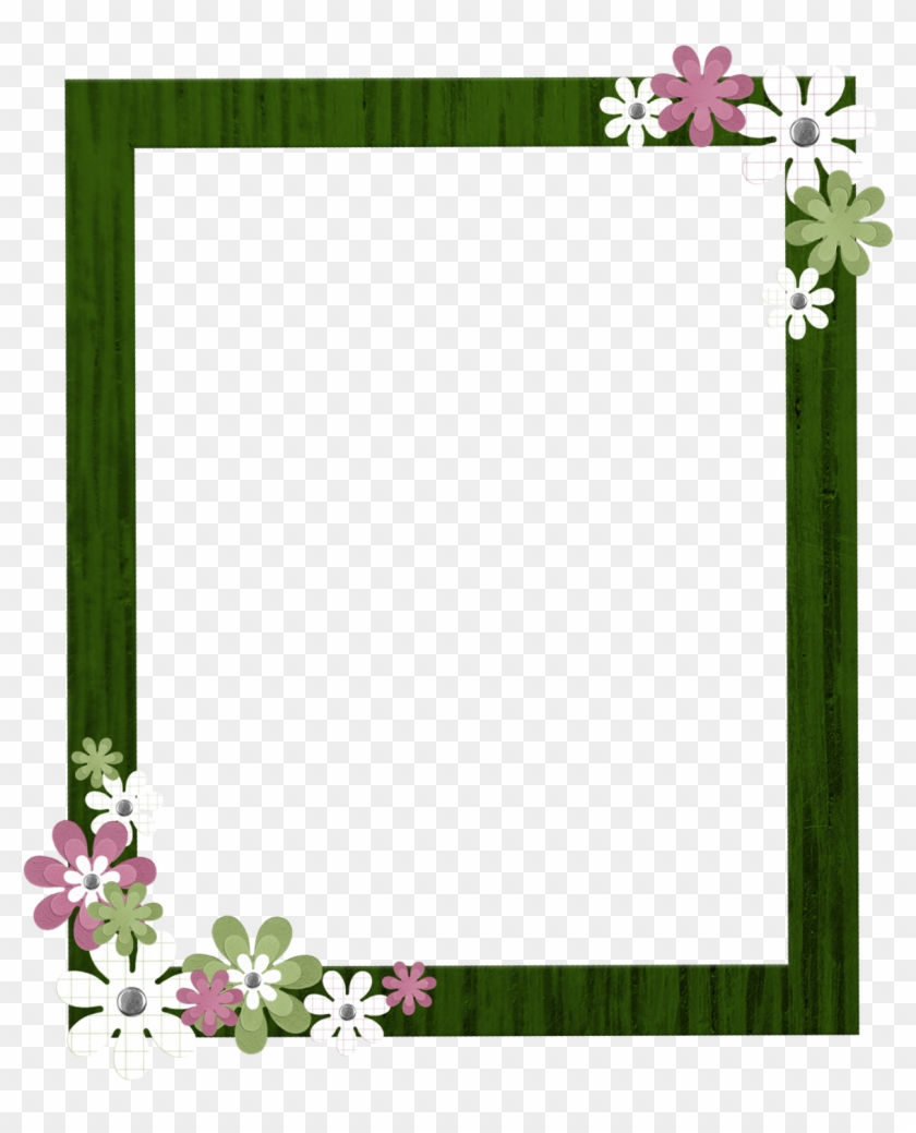 Green Frame Png.