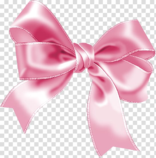 Pink ribbon , Ribbon Gift Pink , Bow transparent background.