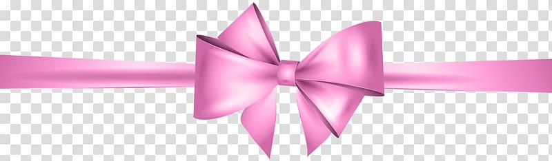 Pink ribbon illustration, Gold Ribbon , Pink Bow transparent.