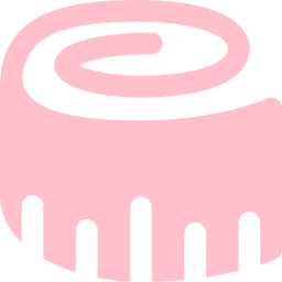 Free Pink Tape Measure Icon.