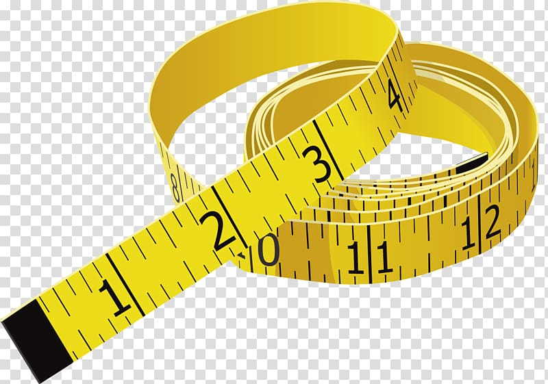 Tape Measures Measurement Tool, measure transparent.