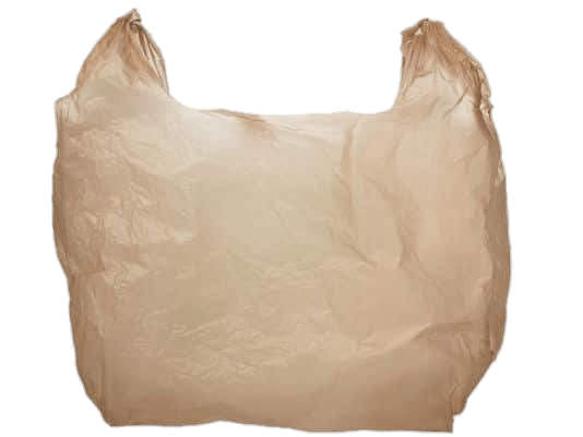 Plastic Bag Brown transparent PNG.