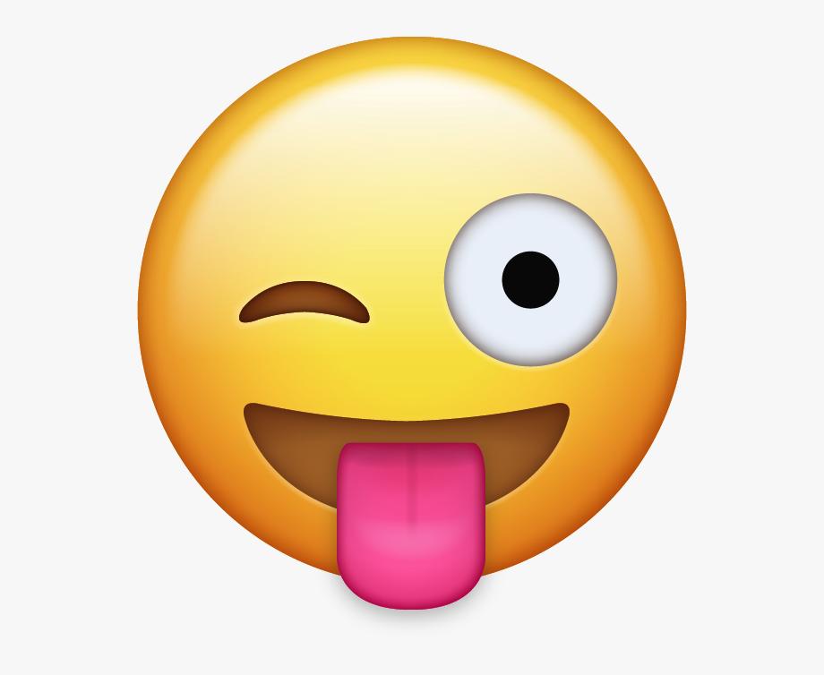 Emoji Clipart Tongue.