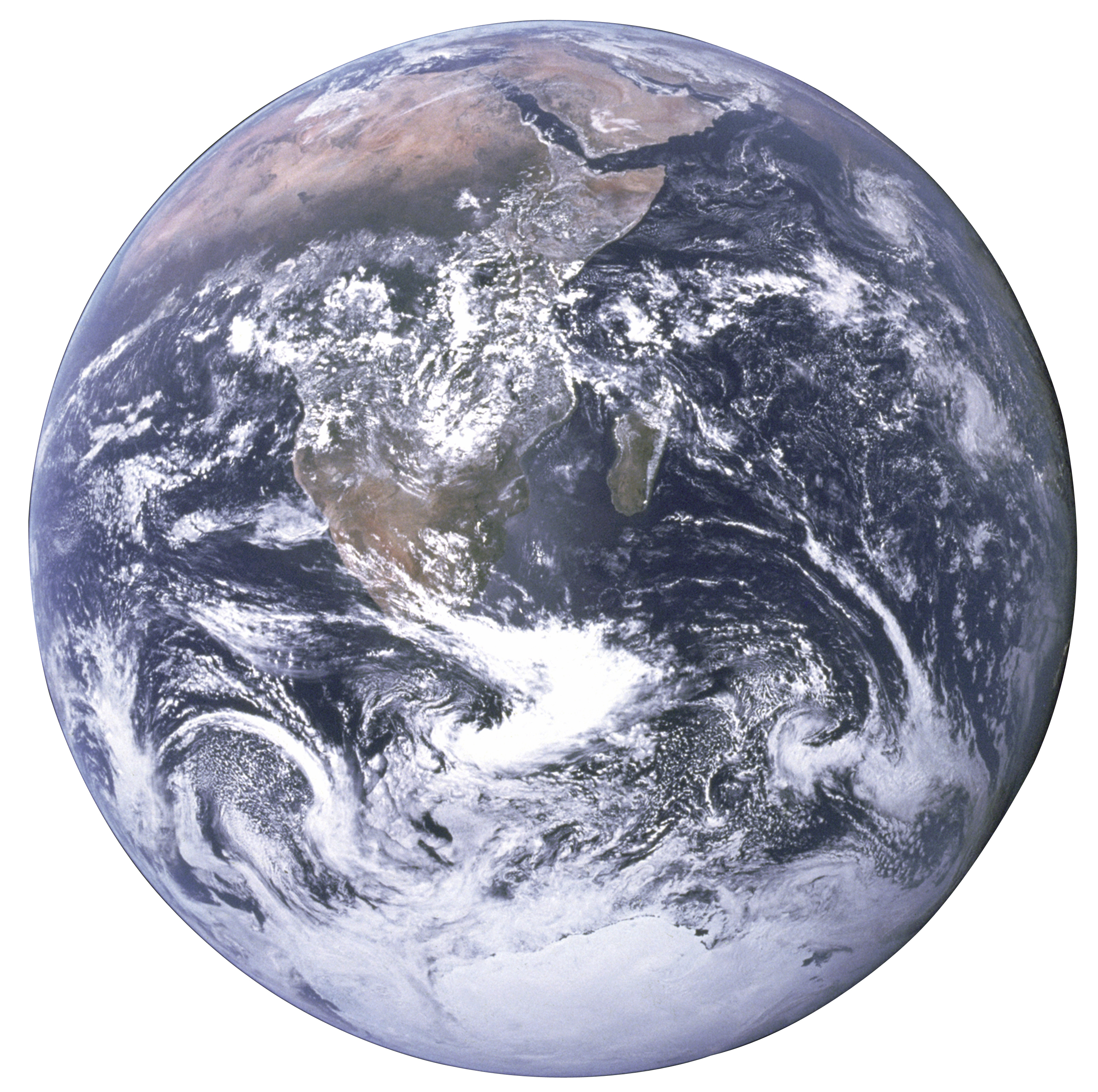 File:The Earth seen from Apollo 17 with transparent.