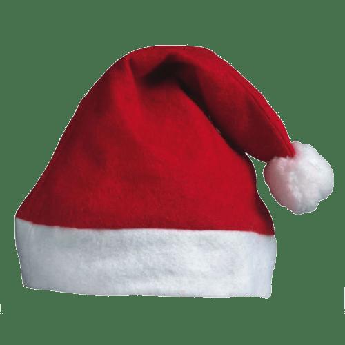 Christmas Santa Hat transparent image.