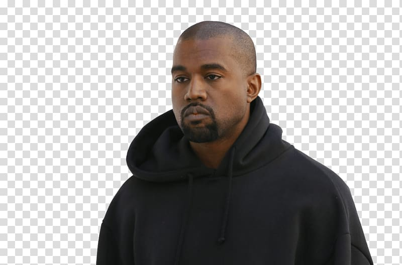 Kanye West, Kanye West Hoodie transparent background PNG.