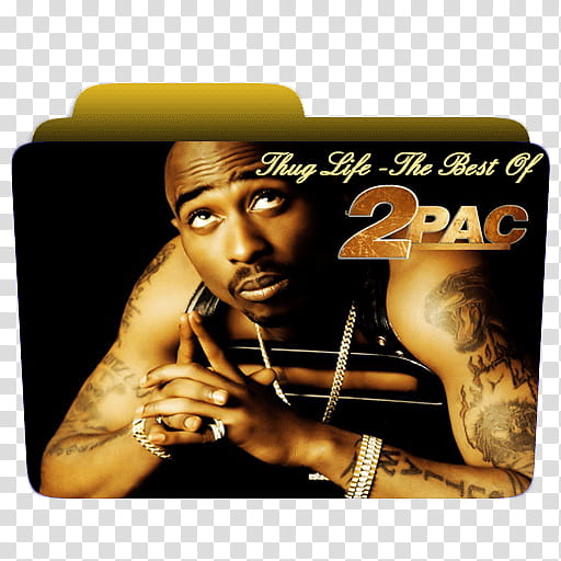 Thug Life, The Best Of Pac (folder icon) transparent.