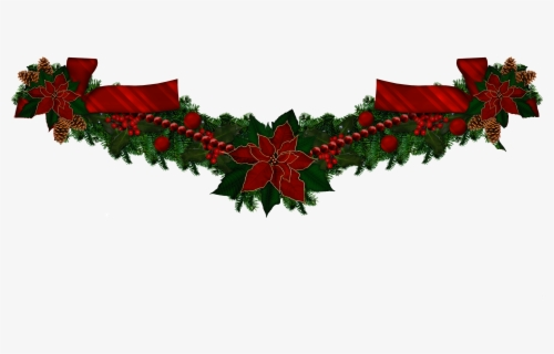 Free Christmas Garland Clip Art with No Background.