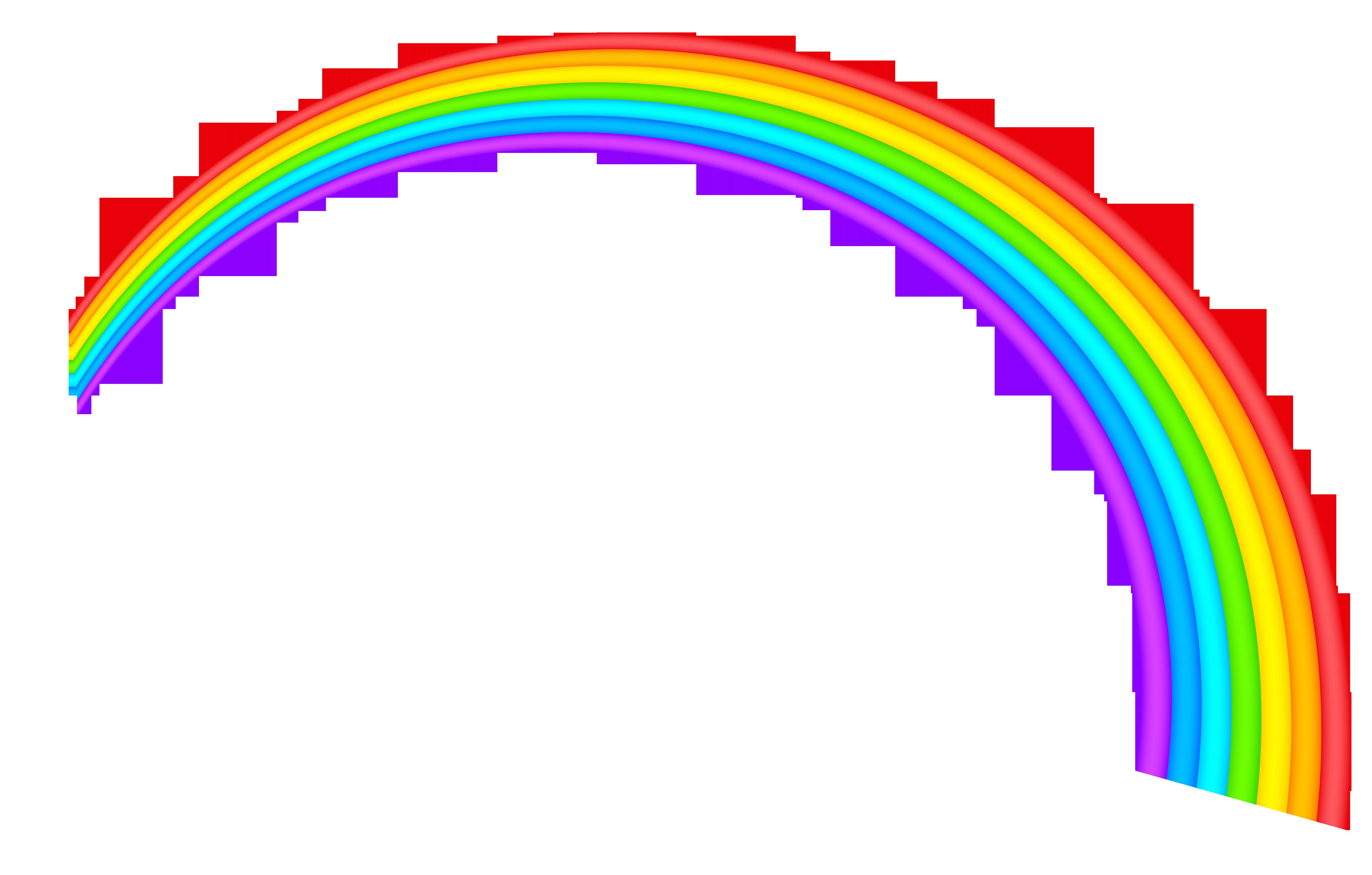 Free rainbow clipart public domain rainbow clip art images.