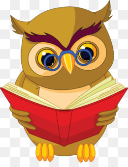 Owl Book PNG and Owl Book Transparent Clipart Free Download..