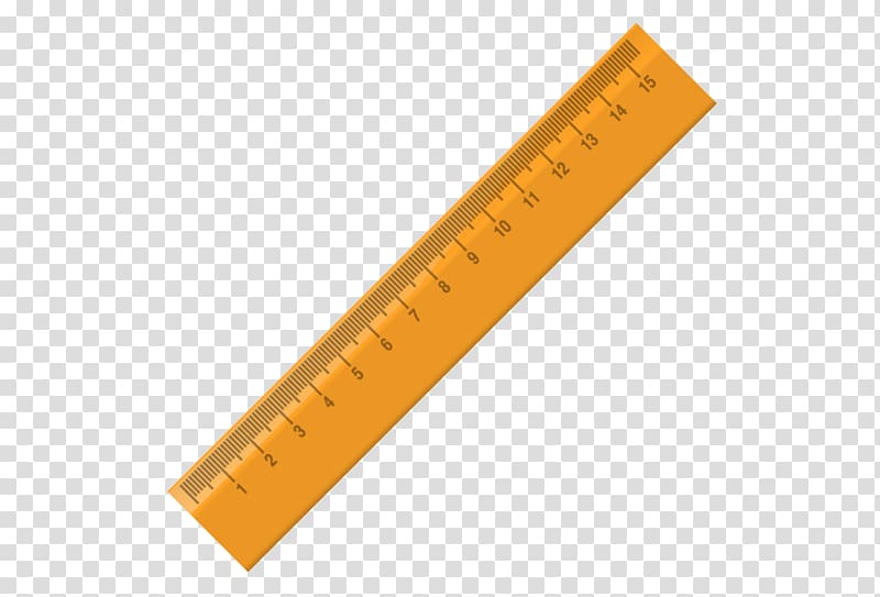 Ruler transparent background PNG clipart.