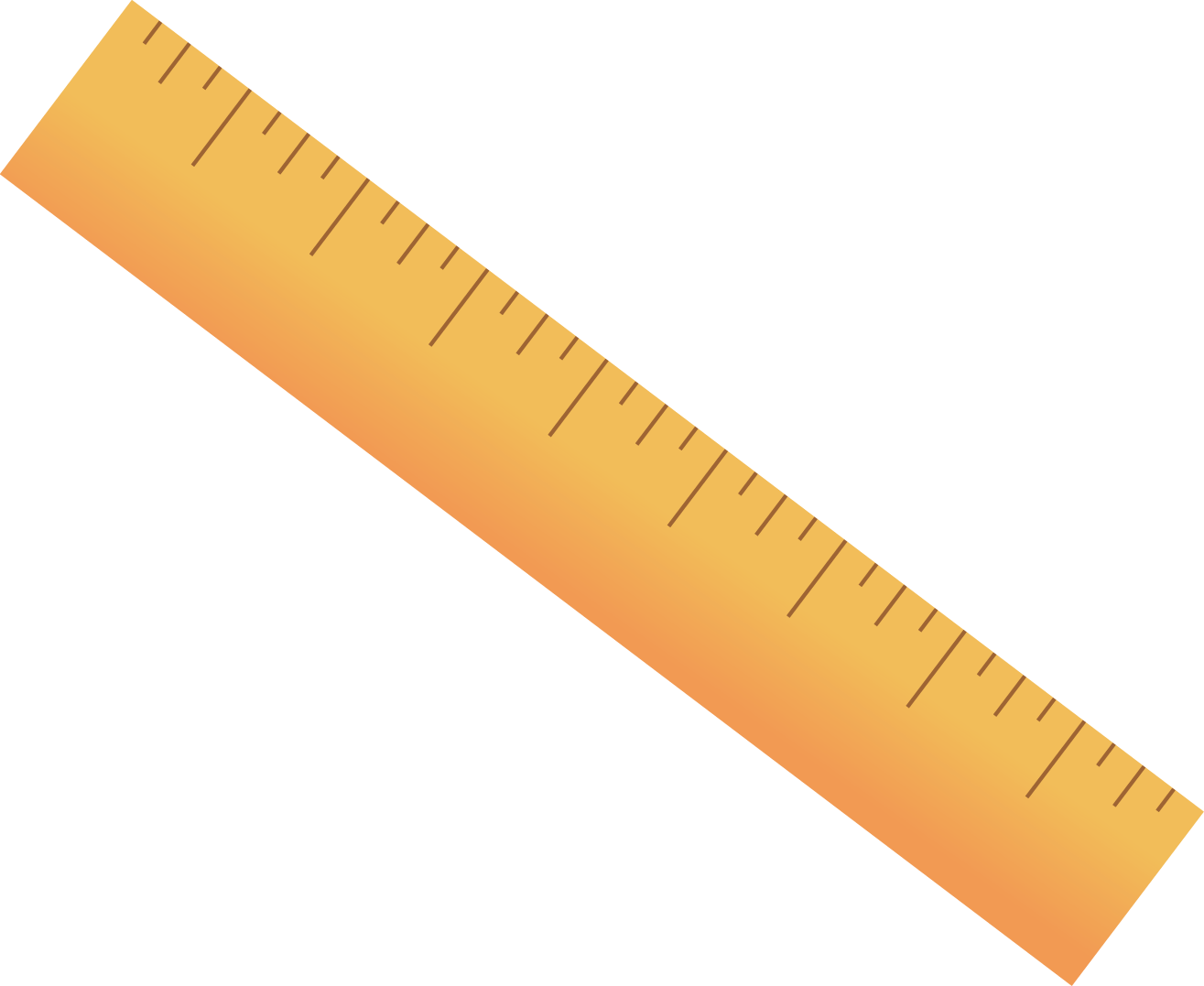 Ruler Drawing Clip art.