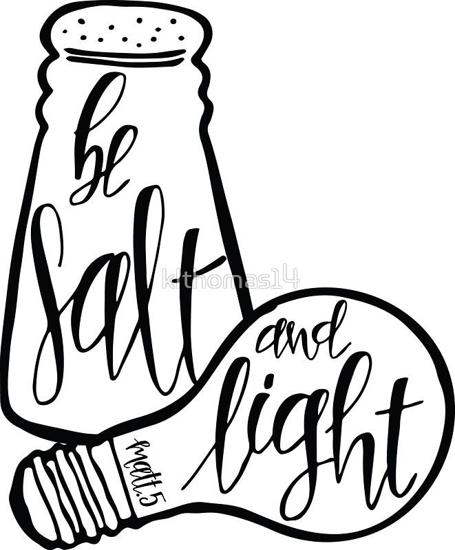 Salt And Light Clipart.