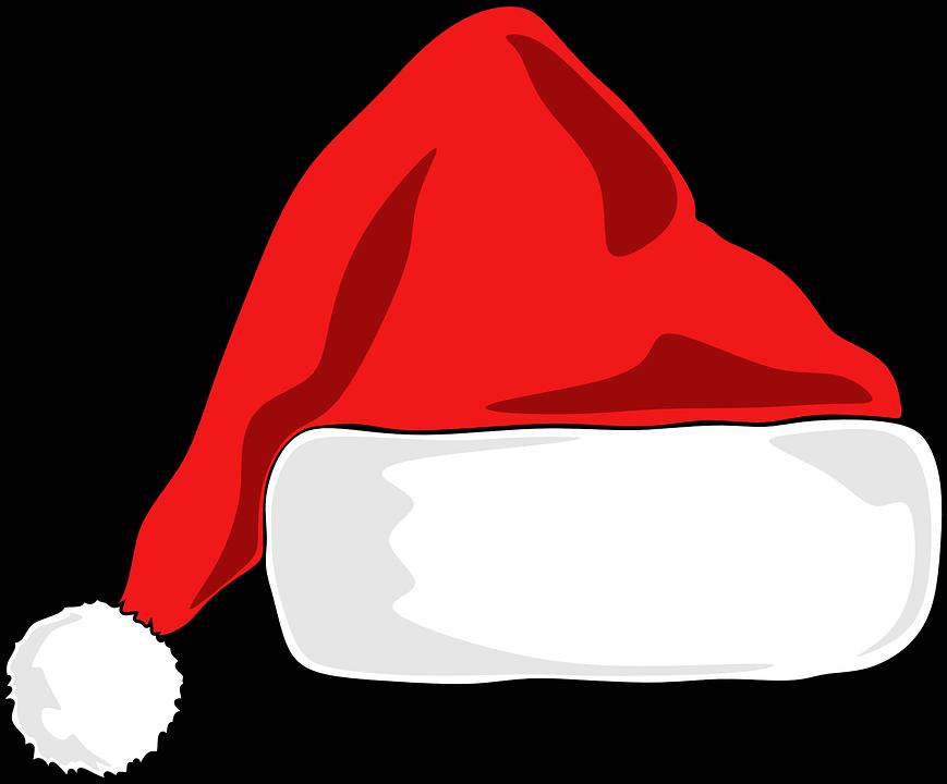 Free vector graphic: Santa Hat, Christmas, Hat, Santa.