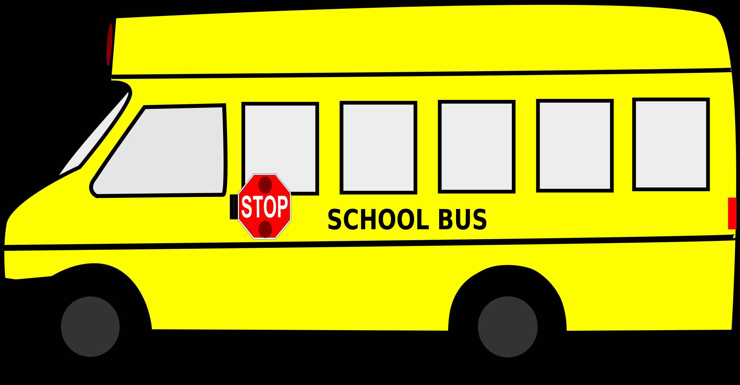 Bus Clipart Transparent.