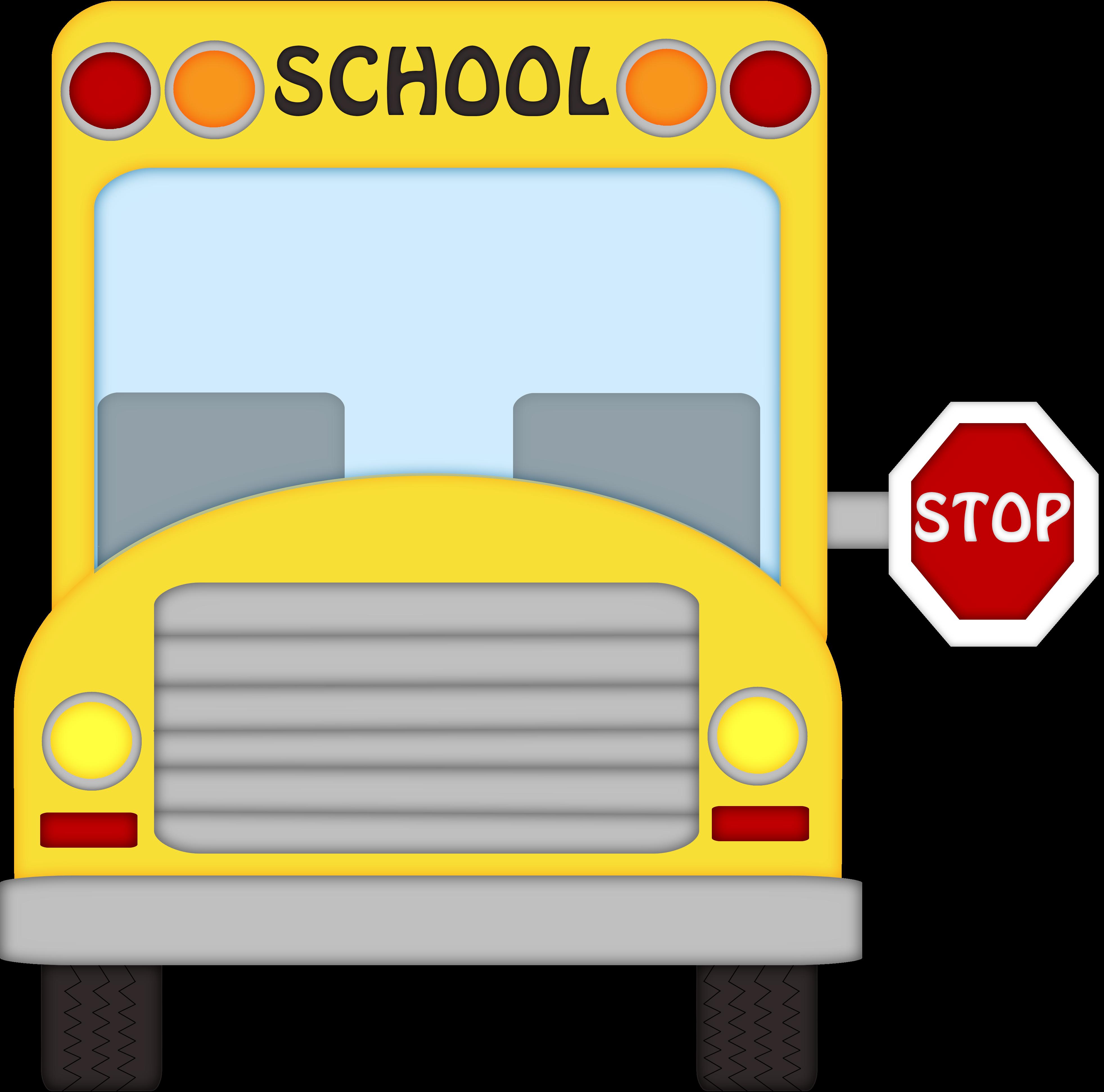 School Bus Clipart Transparent.