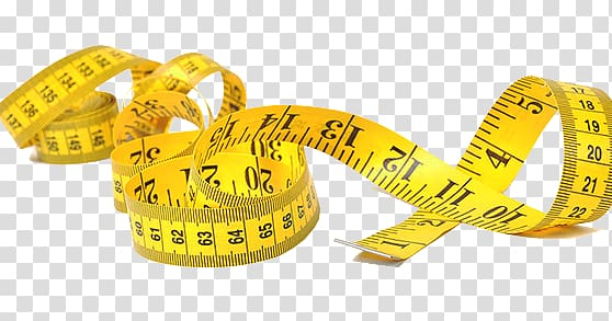 Tape Measures Measurement Tool Textile, others transparent.