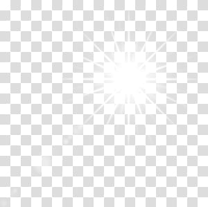 White shining stars transparent background PNG clipart.