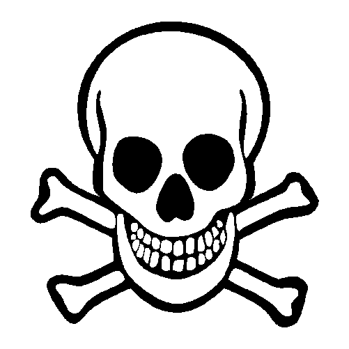 Free Skull And Crossbones Transparent, Download Free Clip.