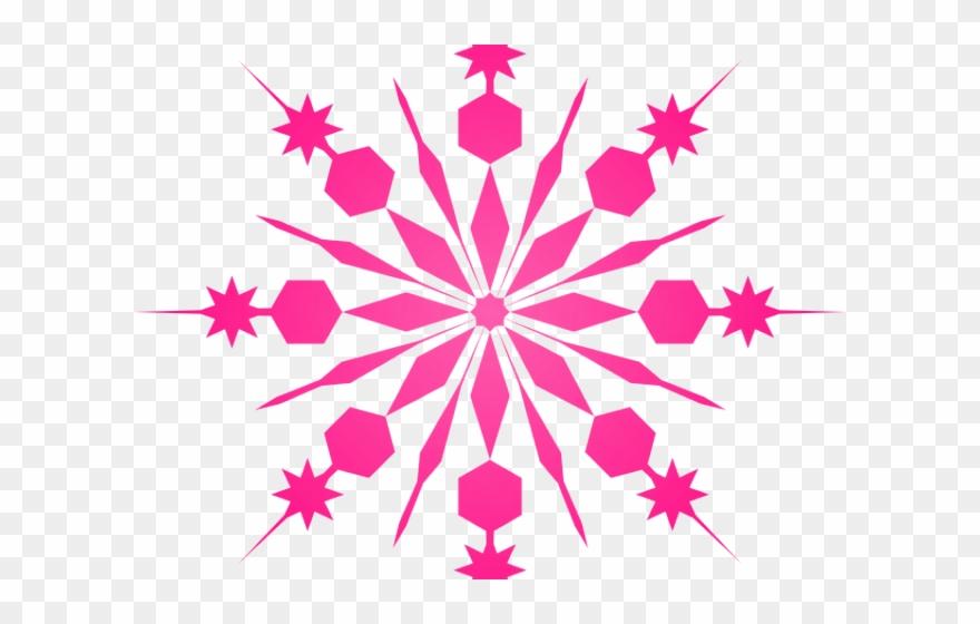 Snowfall Clipart Mini Snowflake.